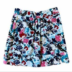 Emmelee for FC Floral Painted Skirt